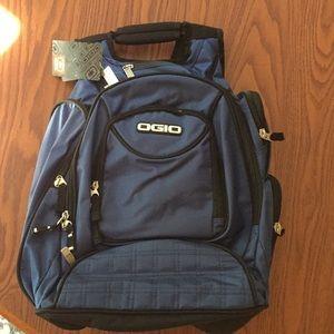 OGIO metro backpack in indigo blue